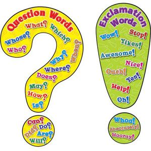 Free posters and activities: Questions and  Exclamations - Useful!