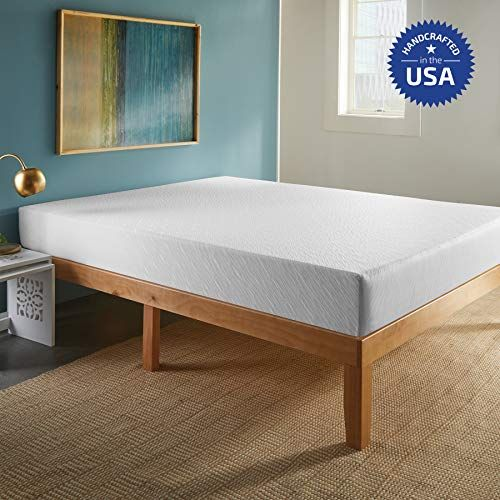 Sleepinc 10 Inch Memory Foam Mattress Comfort Body Support Bed In Box Medium Firm Sleeps Cool No Harmful Ch Memory Foam Mattress Comfort Mattress Mattress