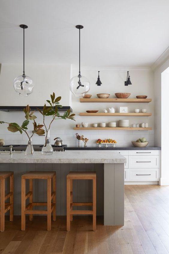 25 Beautiful Scandinavian Kitchen Designs Decor Around The World Scandinavian Kitchen Design Interior Design Kitchen Home Kitchens