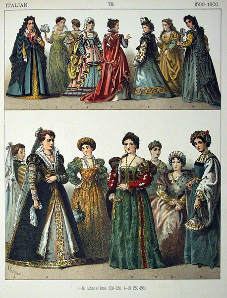 1550–1600 in Western European fashion - Wikipedia