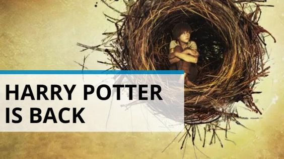 Harry Potter is back and the new artwork is promising!