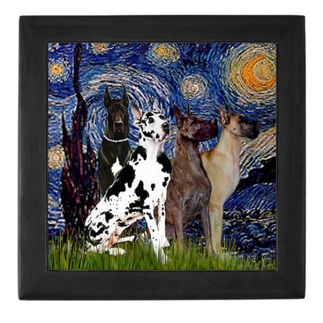 Great picture, love great danes