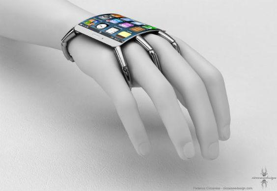 Spider-Like iPhone 5 Design