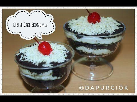 Cheese Cake Lumer Hanya 5 Bahan Resep Dan Cara Membuat Youtube Oreo Desserts Kue Keju Oreo