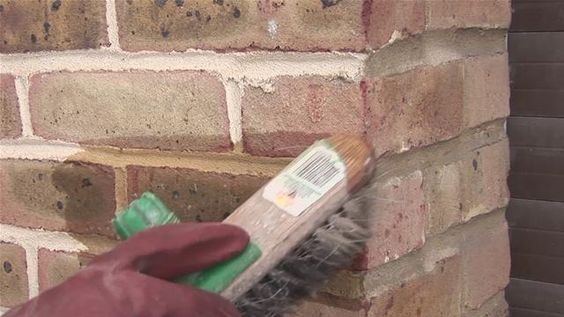 How to remove paint from brick one great web site very impressive remove paint from - Painted brick exterior pictures set ...