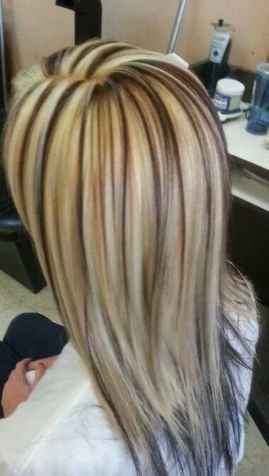 low light hair styles low lights high lights multi color hair color 6742