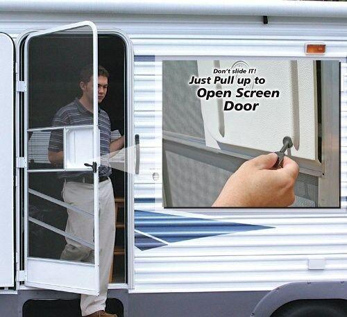 Rv Screen Door Opener For Rv Motorhome Travel Trailer Camper Rv Screen Door Rv Screen Screen Door