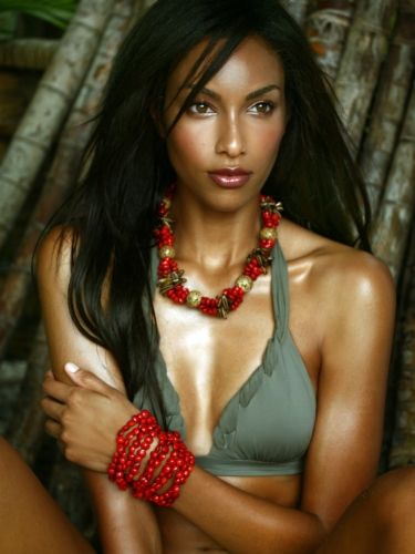 Beautiful Jamaican Women | Second runner up to miss Jamaica I don't know what year. The girl in ...