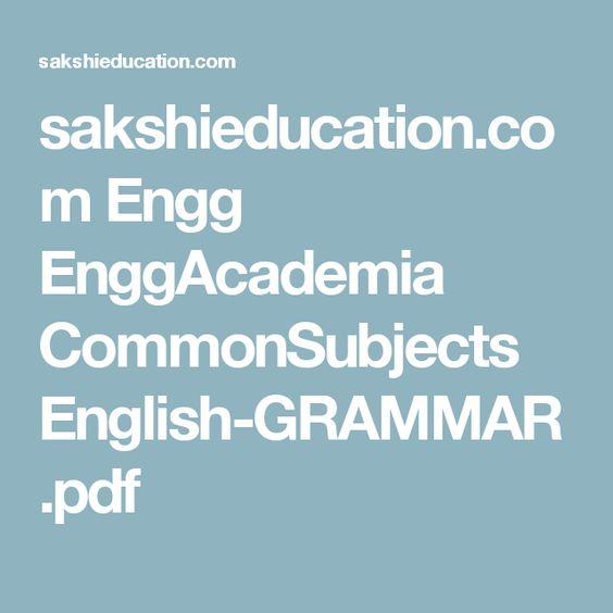 sakshieducation.com Engg EnggAcademia CommonSubjects English-GRAMMAR.pdf