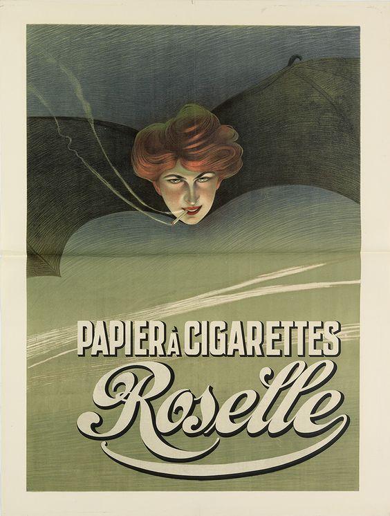 Papier à cigarettes Roselle - années 1900 -