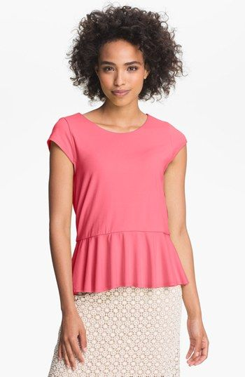 Vince Camuto Peplum Blouse available at $39.53