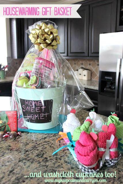 The Cutest Housewarming Basket Gift Tutorial Diy