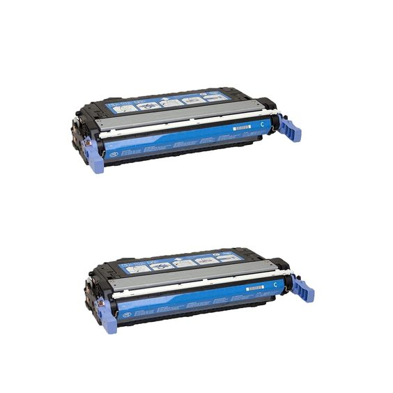 N 2PK Compatible CB401A Toner Cartridge For HP Color LaserJet CP4005 CP4005dn CP4005n