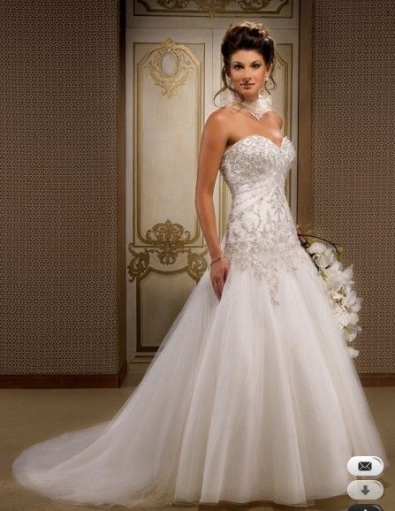Private Label by G a-line strapless sweetheart wedding dress Style ...