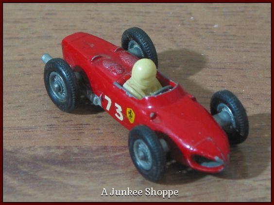 MATCHBOX LESNEY Farrari F1 Racer No. 73 1962 With Driver No Box  Junk0901  http://ajunkeeshoppe.blogspot.com/