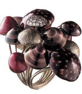 Mushroom ring - Alice in Wonderland