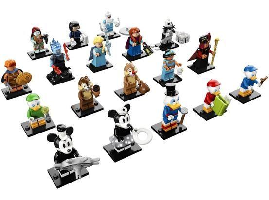 Disney Pixar Series 2 Complete Collection 18 Lego Minifigures