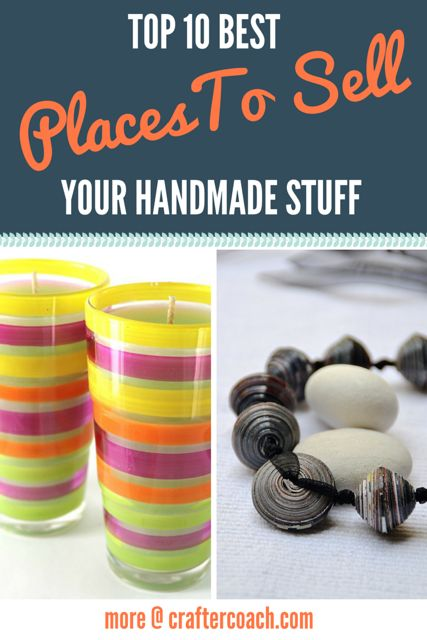Craft business where to sell and to sell on pinterest for Top selling handmade crafts