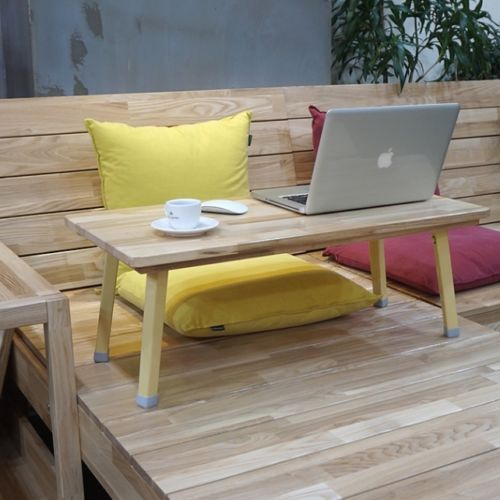 Floor Low Table Wooden Folding Coffee Study Laptop Desk Japanese
