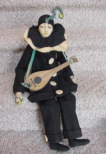 Lenci Pierrot Boudoir Doll