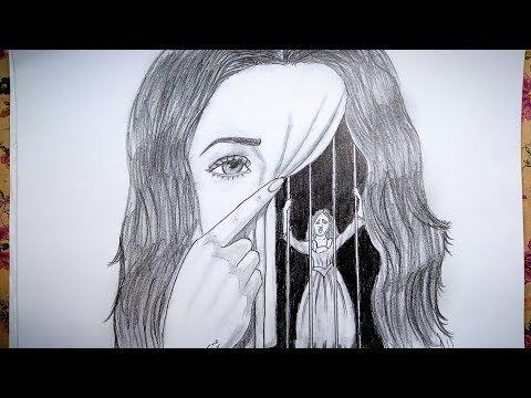 رسم سهل بالرصاص سلسلة الرسوم التعبيرية 3 Youtube Instagram Background Female Sketch Drawings