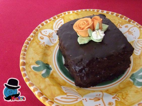Kreattiva: Torta improvvisata per festa del papà