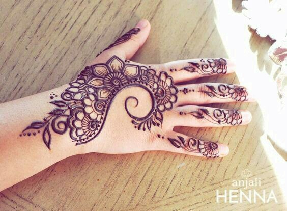 Back Hand Henna Tattoo Designs Henna Mehndi Designs For Hands