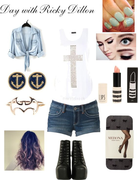 """""""Day with Ricky Dillon"""" by tracyruths on Polyvore"""