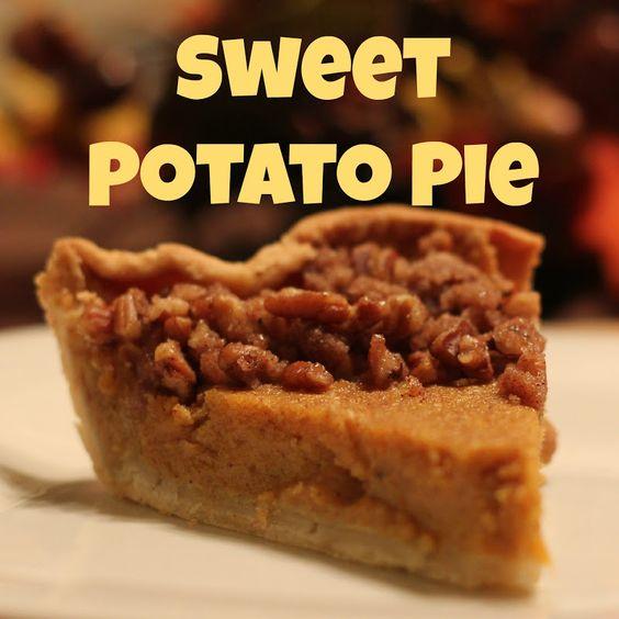sweet potato pie pictures | Savor His Goodness: Sweet Potato Pie