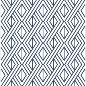 Nextwall Shiplap Coastal Blue Vinyl Strippable Roll Covers 30 75 Sq Ft Ax10902 The Home D In 2020 Peel And Stick Wallpaper Peelable Wallpaper Geometric Wallpaper