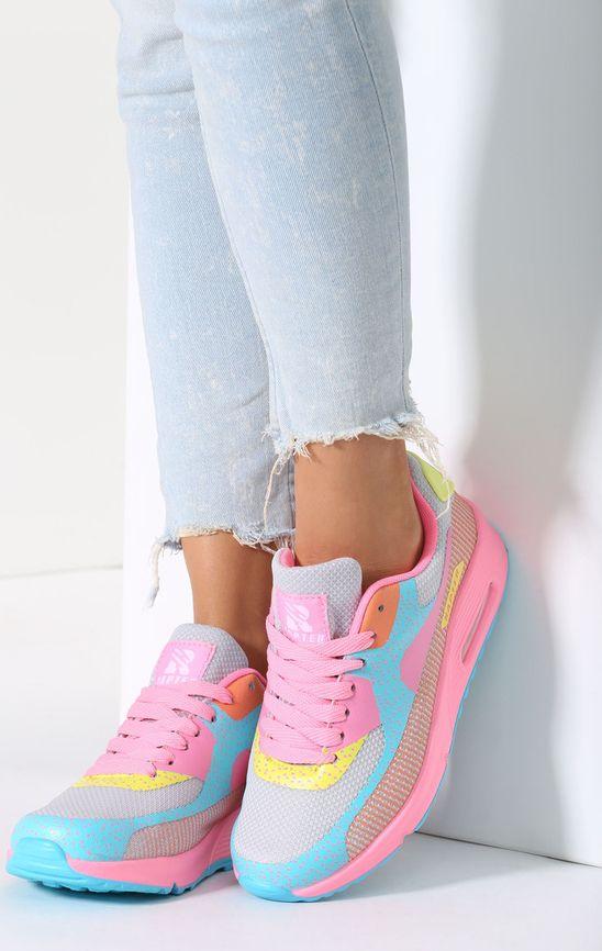 Renee Rainbow Pink Buty Sportowe Candy