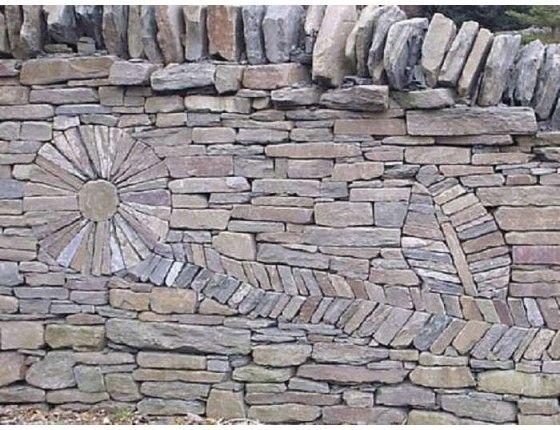 Drystone Walling York Stone Dry Stone Wall Stacked Stone Walls Dry Stone