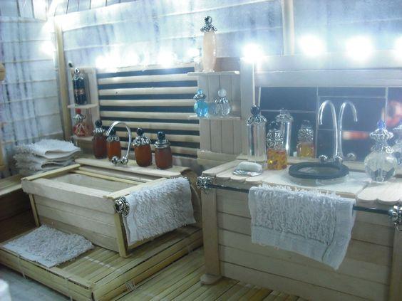 salle de bain miniature