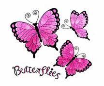 pink butterfly pictures - Bing Images