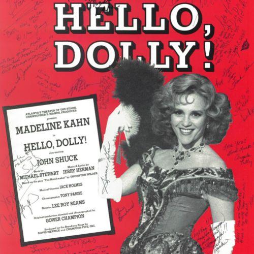 Madeline Kahn sings So Long, Dearie from Hello, Dolly! [Houston, July 1992]
