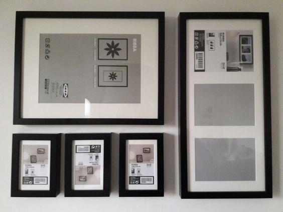 Ikea Bilderrahmen Bilderwand