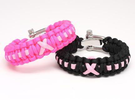 Regular Survival Bracelet™ - Pink Ribbon with Donna