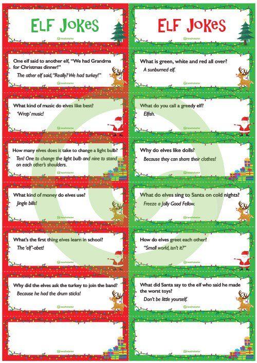 Christmas Joke Cards