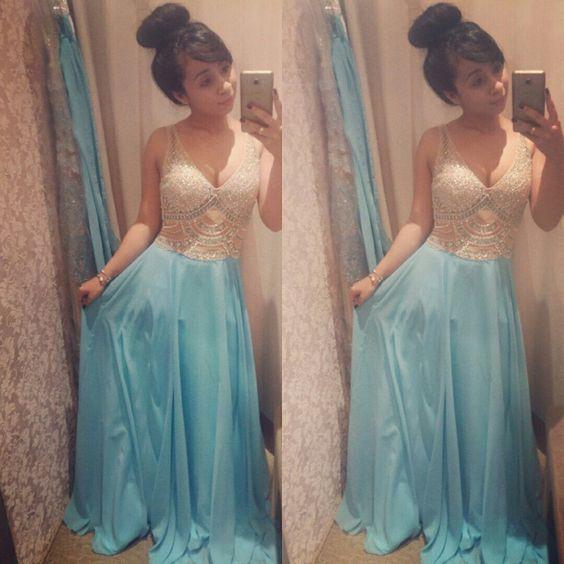 #vestidos #azul #madrinha #clin #doce 💙☁
