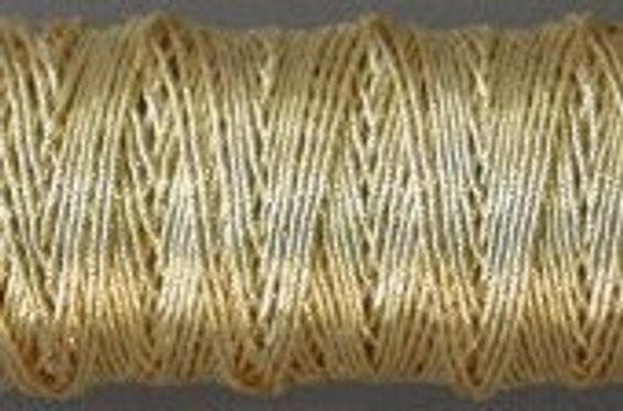 Gilt Check Thread metal couching thread Benton /& Johnson Goldwork