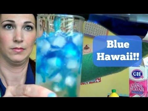 Blue Hawaii FRIDAY - #YouTube #Drinks #Alcohol #ALOHAFRIDAY