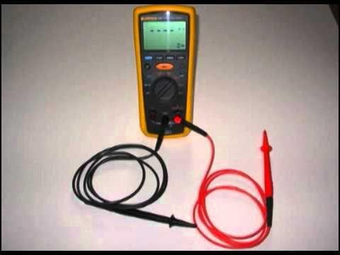 Fluke 1507 Insulation Resistance Tester Measurements Insulation Tester User Manual