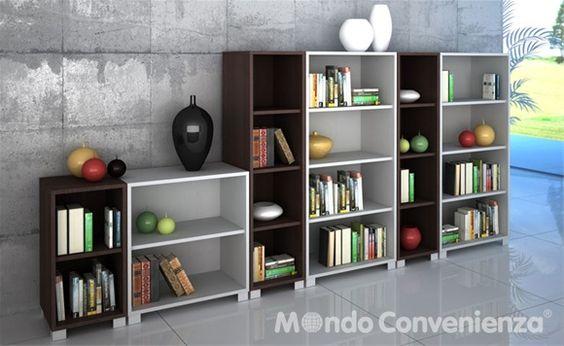 Mondo convenienza mood quadrante libreria con 1 for Libreria mondo convenienza