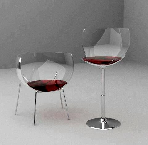 Wine Chairs For more visit: store.theproductfarm.com @Matty Chuah Product Farm