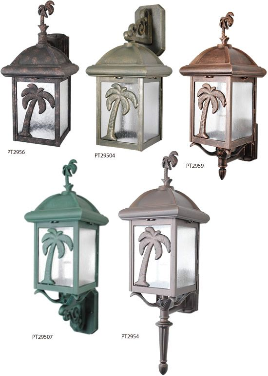 Melissa Lighting British Colonial Tropical Palm Tree Outdoor Series Deep Discount Lighting British Colonial