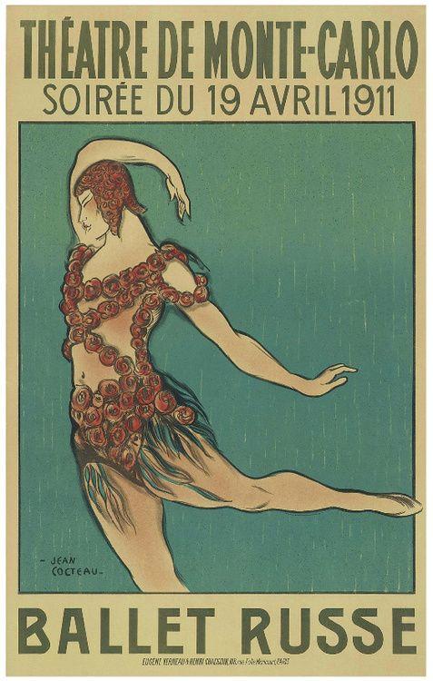 Jean Cocteau - Soireé du 19 avril 1911