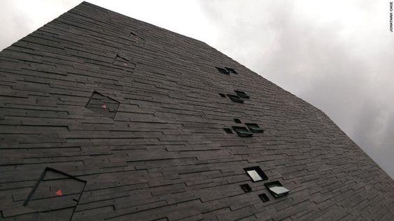 Bảo tàng không có cửa sổ nhằm giúp việc bảo quản mẫu vật tốt hơn
