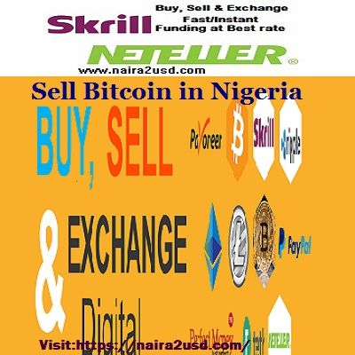 Sell your bitcoin in nigeria