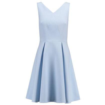 Kleid im A-Linienform - Cooles hellblaues Kleid von mint&berry. Es kommt im coolen Seventiesstil! - ab 69,95€