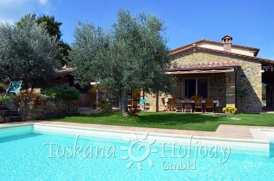 Ferienhaus Toskana mit Komfort und Ambiente f. 12 Personen